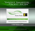 Investment Education Seminar USB Wallet Card Video